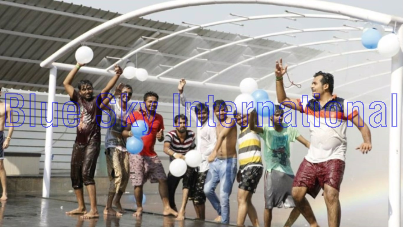 Rain Dance Set up Fun Full masti